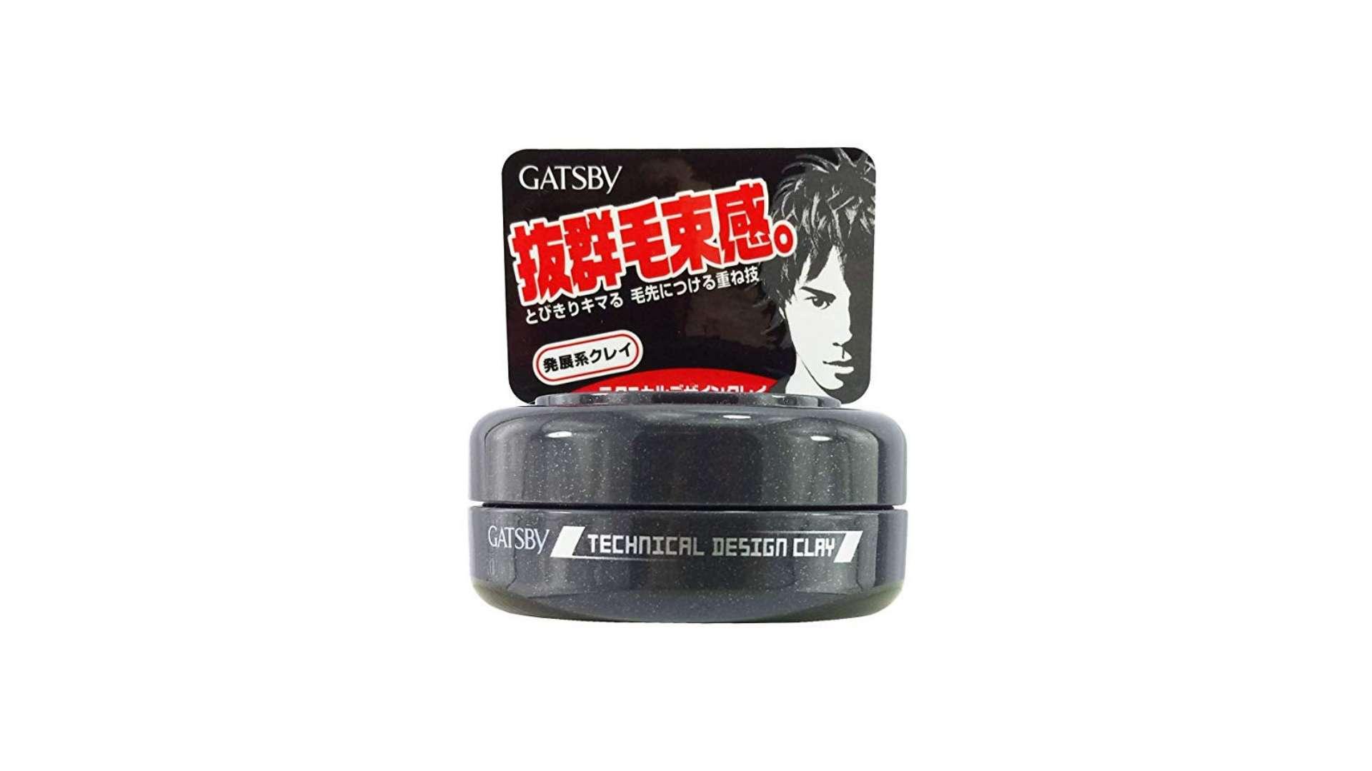 Best Hair Clay For Men - Gatsby Technical Design